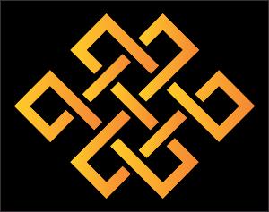 Endless Knot Buddhist symbol