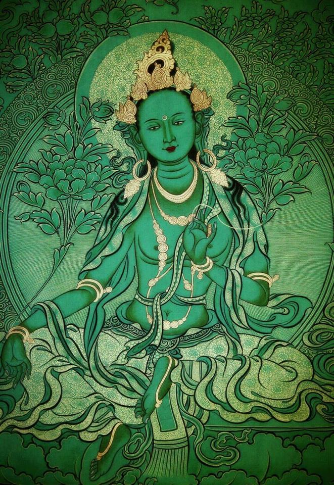 Green Tara Mother of the Buddhas