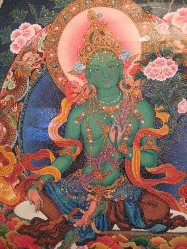 Green Tara beautifl image