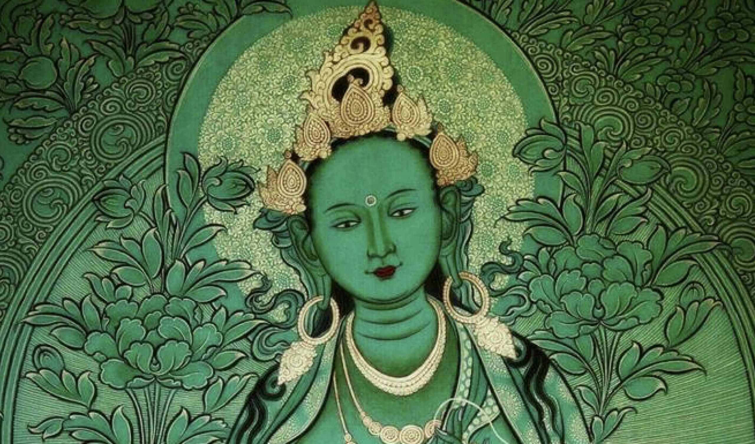 Green Tara feature image horizontal scaled