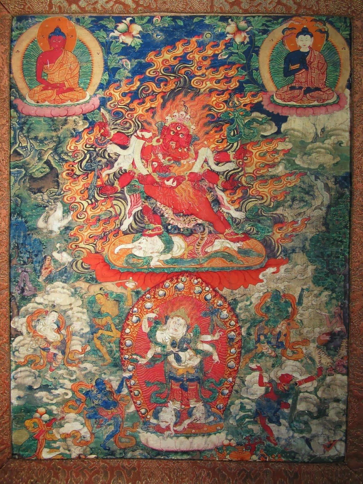 Hayagriva Secret Accomplishment and Vajravarahi his wisdom consort Buddha Weekly