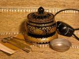 Lotus electric incense burner