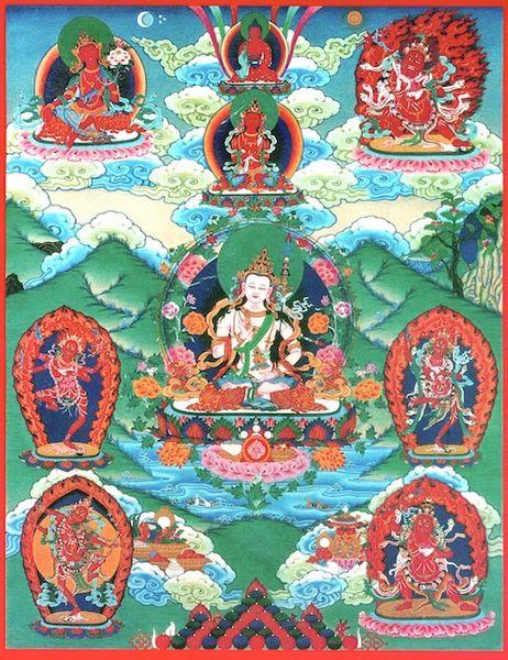 Nine Magnetizing Deities