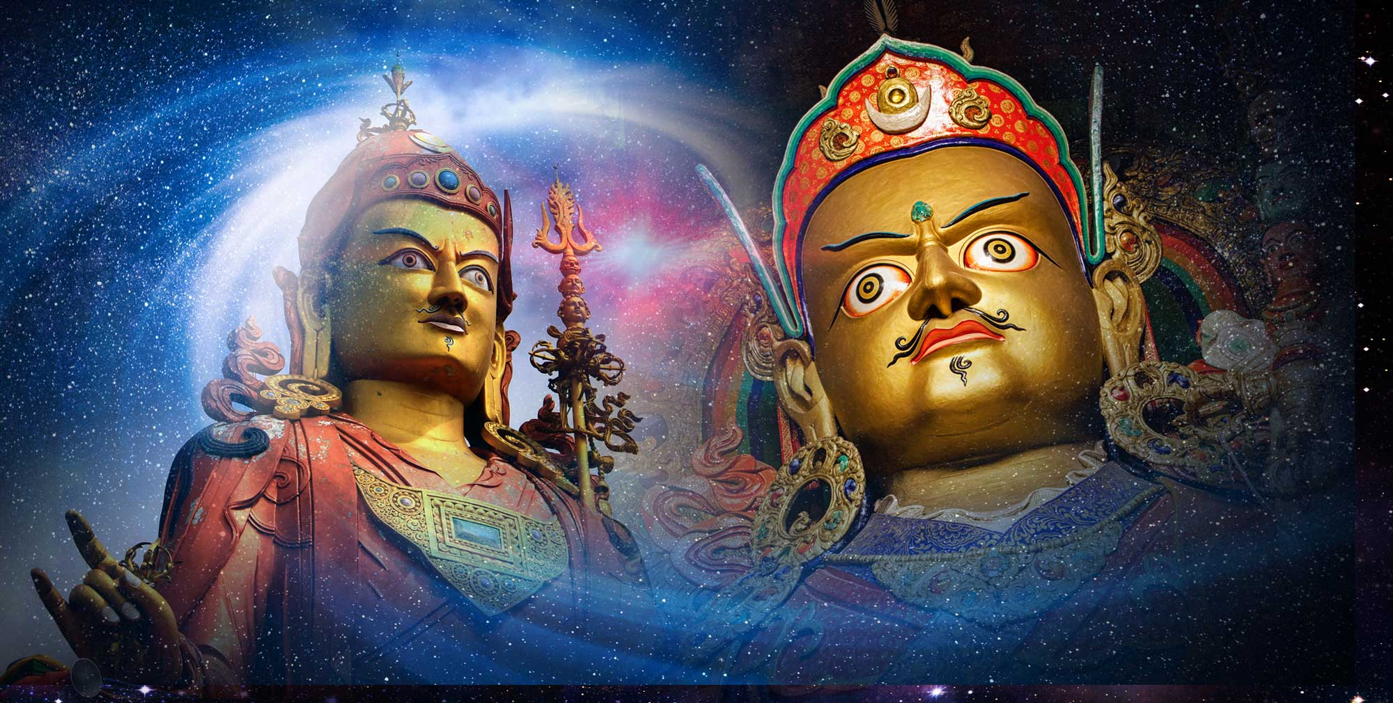 Padmasambhava cosmic Guru Rinpoche Quantum Energy Buddha Weekly