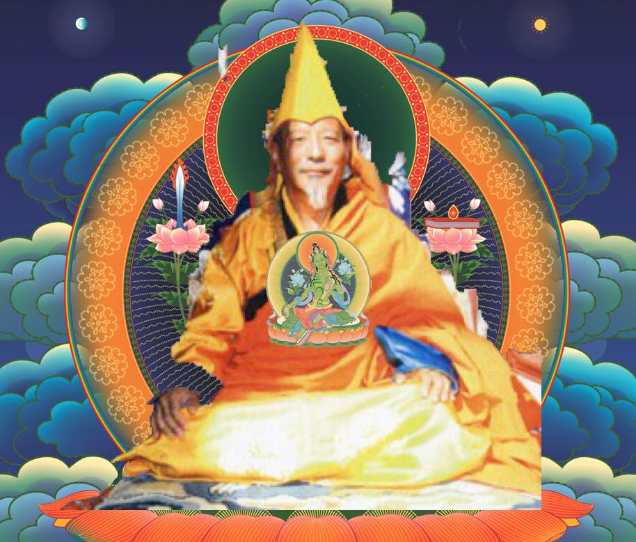 Rinpoche Zasep Tulku with Tara at Heart