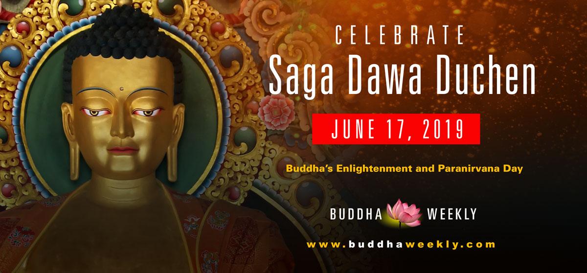 Saga Dawa Duchen Buddha Weekly 1200