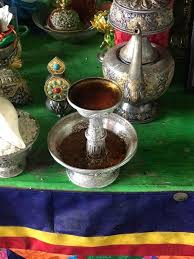 Serkyem and tea offering phub dorji wang