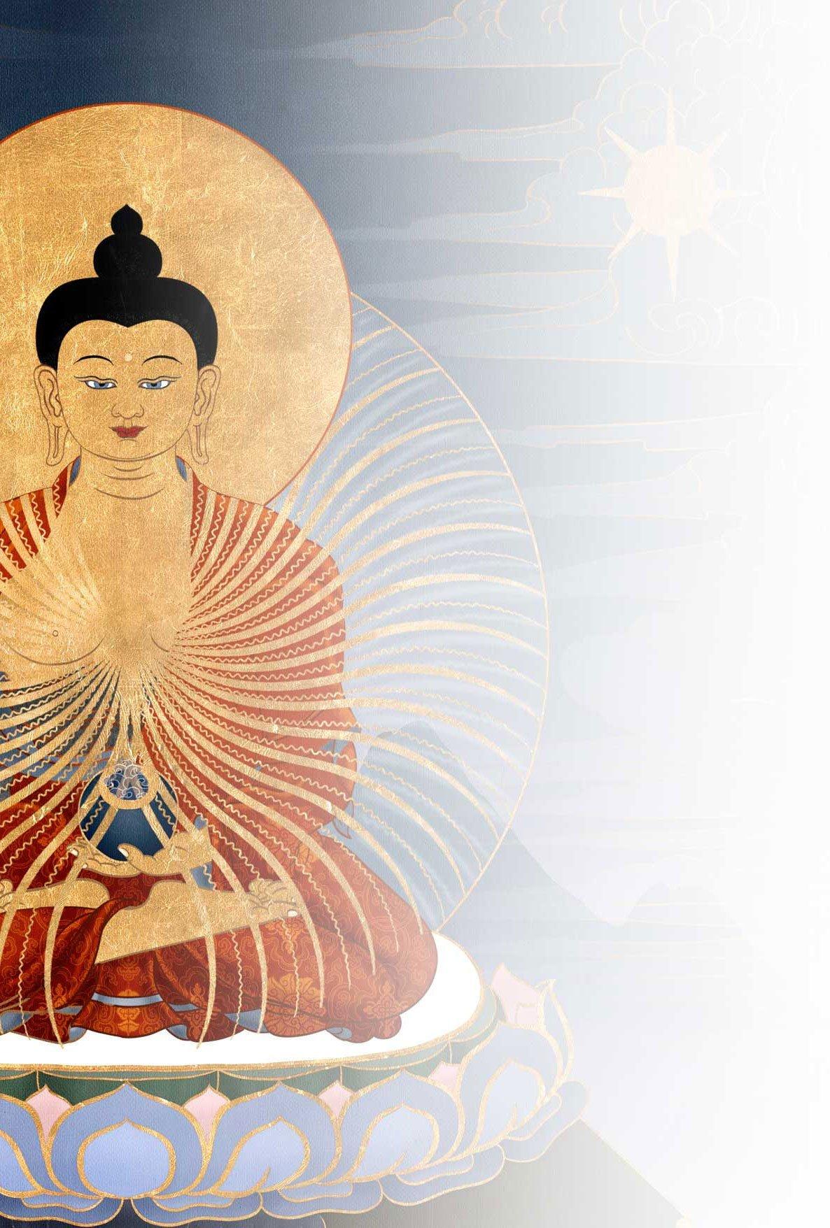 Shakyamuni Buddha background 2