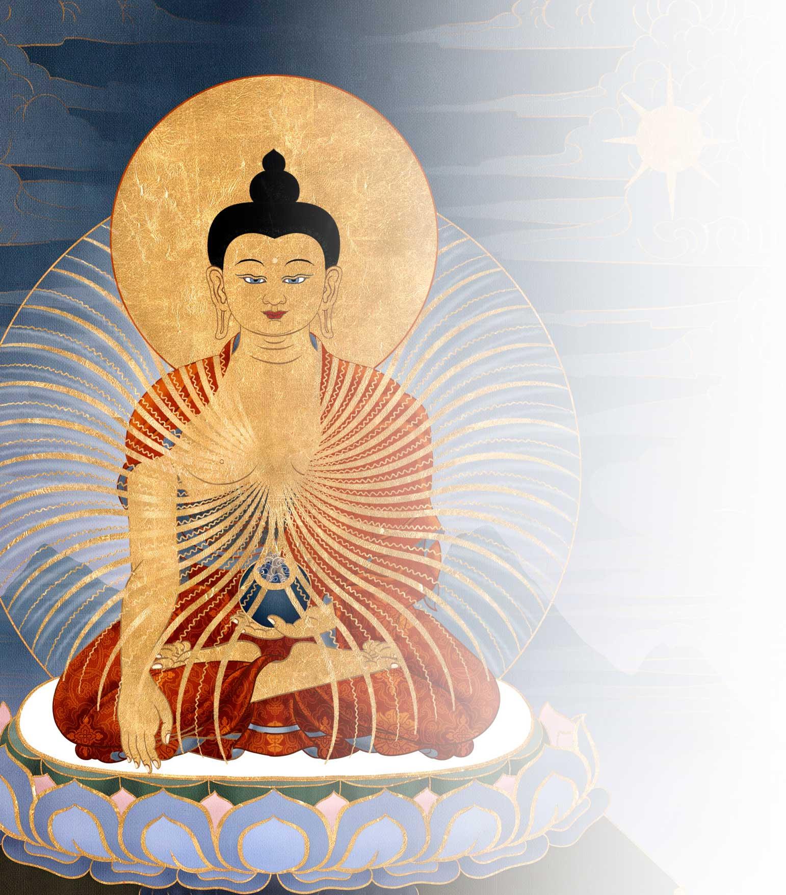 Shakyamuni Buddha background