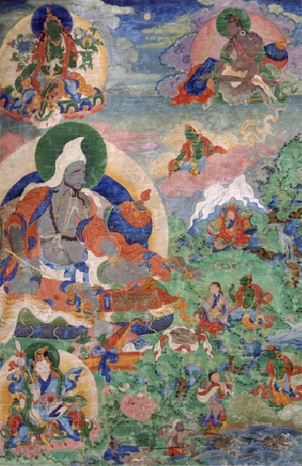 Surya Gupta Thangka 21 Taras