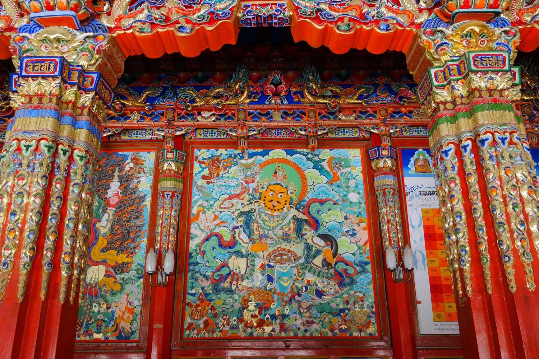 Tibetan temple 53950457
