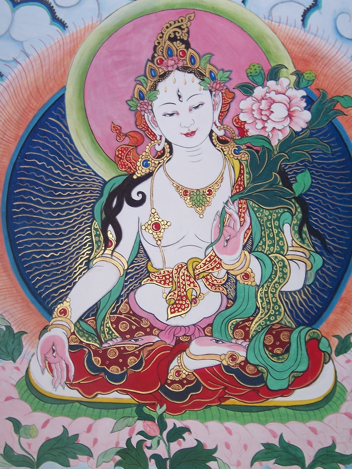 White Tara beautiful image