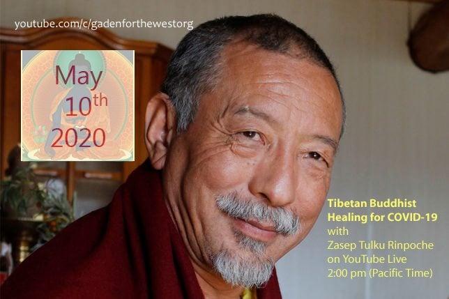 Zasep Rinpoche teaching on YouTube