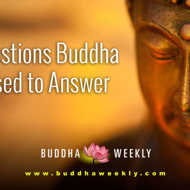 BW-facebook-4-questions-Buddha Weekly-Buddha-Won't Answer