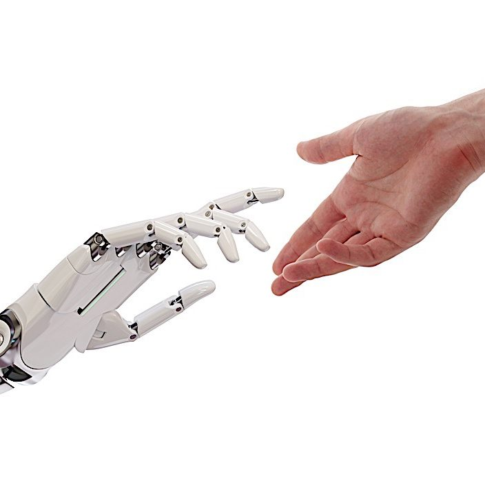 Will artificial intelligence reach the point of sentience? When Buddhists offer compassion to all sentient beings, will this ultimately include AI? (Editor picture and caption.)