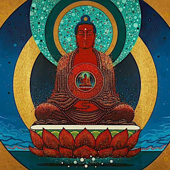 Amitabha is associated with the west and the Pureland of the west.