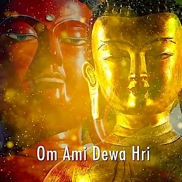 Om Ami Dewa Hri is the mantra of Amitabha Buddha.