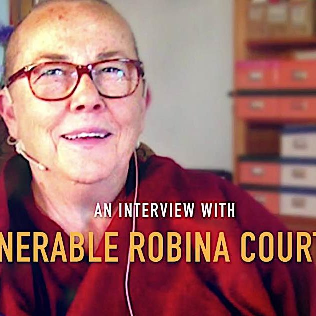 An interview with Venerable Robina Courtin, a Buddha Weekly video.