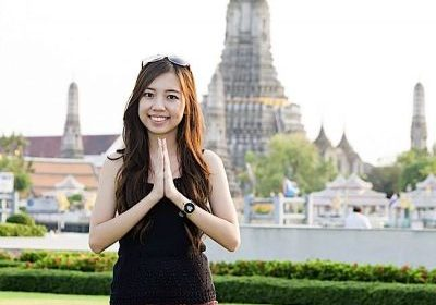 The Anjali Mudra is a near-universal gesture of greeting. The author argues that the spoken greeting varies, only the mudra remains the same.