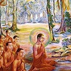 Buddha-Weekly-Buddha Teaching monks-Buddhism