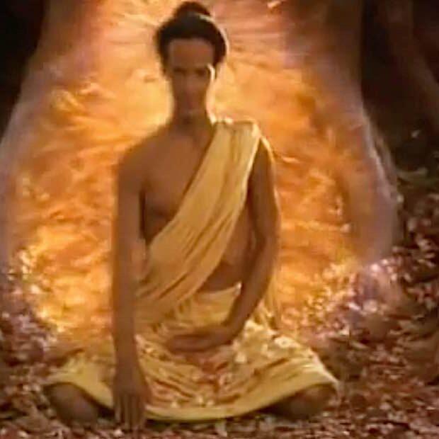 Keanu Reeves stars as Shakyamuni Buddha in the movie Little Buddha
