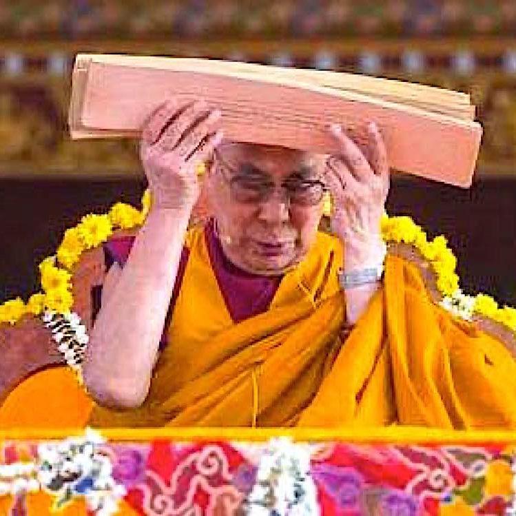 H.H. the Dalai Lama teaching Lamrim.