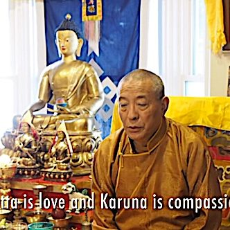 Buddha-Weekly-Feature image Metta and Karuna Love and Compassion teaching video with Zasep Tulku Rinpoche-Buddhism
