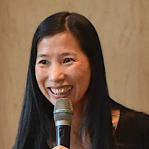Rebecca Li PhD, author of Allow Joy Into Your Heart and a Chan teacher — here, teaching in Vancouver