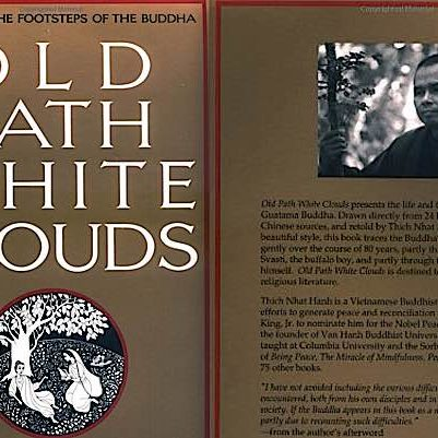 Buddha-Weekly-Front and back cover Old Path White Clouds Thich Nhat Hanh-Buddhism