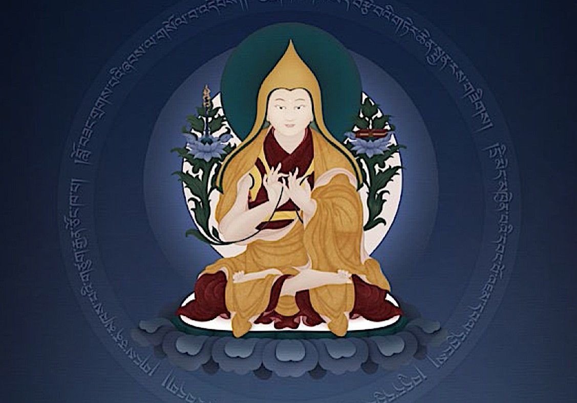 Cover image by Ben Christian, from the book Gelug Mahamudra: Eloquent Speech of Manjushri by H.E. Zasep Rinpoche.