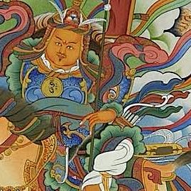 Buddha-Weekly-Gesar of Ling Buddhist King allegorical story about warrior and fear-Buddhism