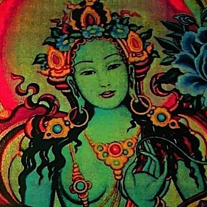 Tara is a lower tantric practice, generally, although Chittimani Tara is a Highest Yoga practice. Lower Tantra does not imply it is less important than Higher Tantra. Tara is a beloved Female Buddha, the active protector.