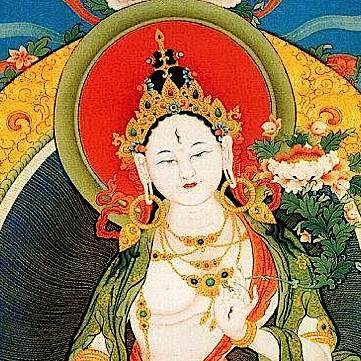 White Tara has seven eyes.