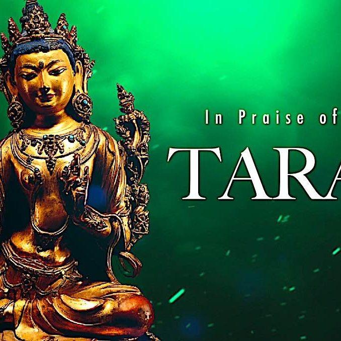 Jason Espada recites In Praise of Tara in this meditative recited video with meditational images of Tara.