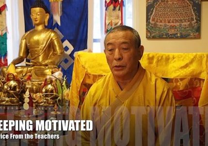 Buddha-Weekly-Keeping Motivated in Buddhist Practice Teacher Advice Video 7-Buddhism