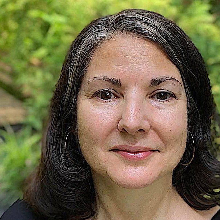 Meditation teacher Kimberly Brown, author of Steady, Calm and Brave.