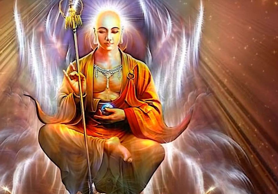 Kshitigarbha, the Earth Store Bodhisattva, saving millions of beings over countless years.