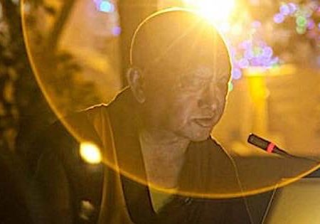 "Lama Zopa expounds on the benefits of the sublime ""Golden Light Sutra."""