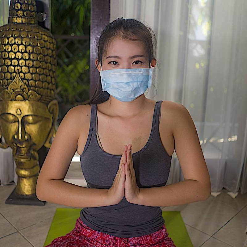 Mindfulness is a healthy practice anytime. Mask optional.