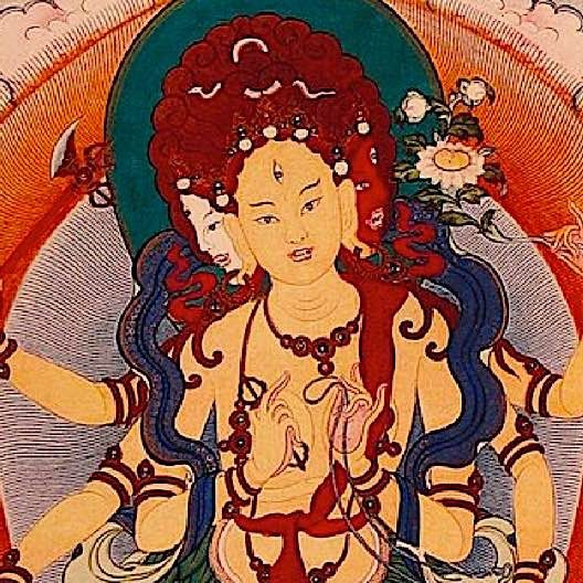 """Parnashavari is the 20th Tara emanation of the 21 (some traditions) and is """"Supreme healer"""" emanation of Tara."""