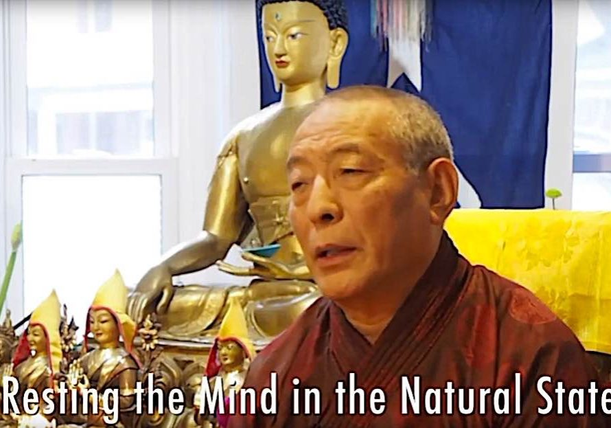 Video teaching on Samatha and resting the mind in the natural state at a weekend retreat on Mahamudra with H.E. Zasep Rinpoche.