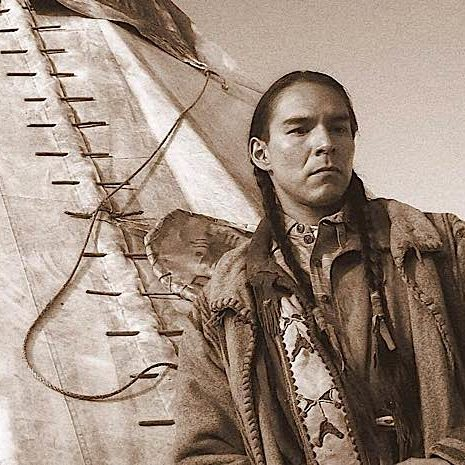 """Sean """"Walking Bear"""" also stars in films. Shot on the set of HBO's HBO'S """"Bury My Heart at Wounded Knee."""""""