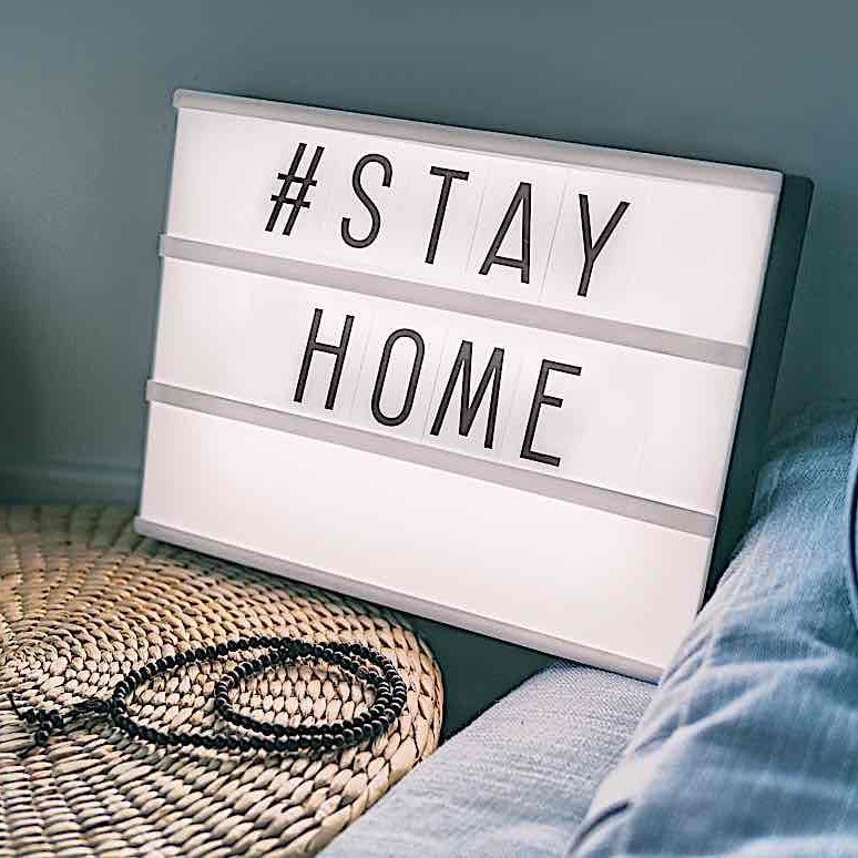 Buddha-Weekly-Stay home hashtag meditation-Buddhism