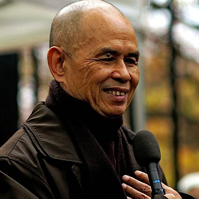 Great Zen Teacher Thich Nhat Hanh, known around the world as a peace activist, was admitted to hospital due to brain hemorrhaging. Buddhists around the world sent him healing wishes.
