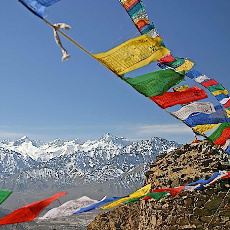 Buddha-Weekly-Tibetan Prayer Flags-Buddhism