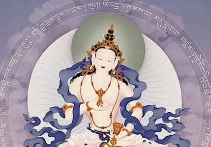Buddha-Weekly-Vajrasattva feature image with mantra by Jampay Dorje-Buddhism