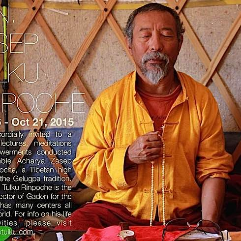 Buddha-Weekly-Venerable Zasep Rinpoche Sep 26-Oct 21 in Toronto-Buddhism