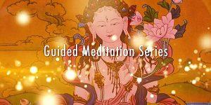 Buddha Weekly White Tara Video long life practice guided meditation series title Buddhism custom crop