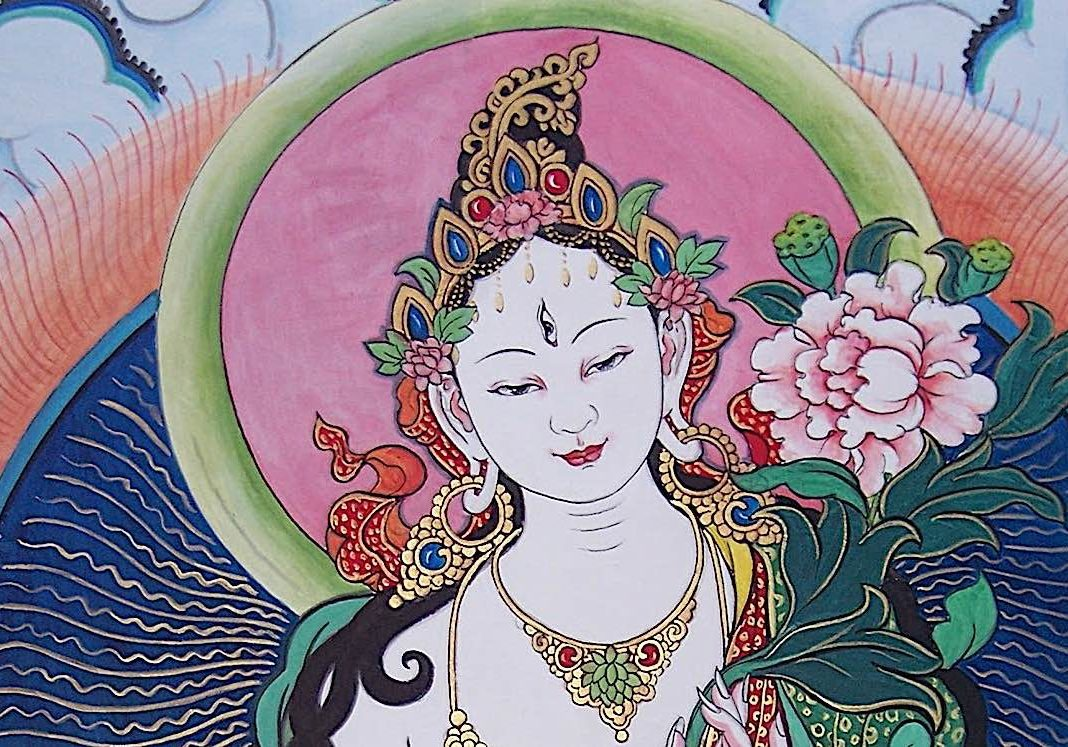 White Tara, Mother of the Wisdom of the Buddhas.