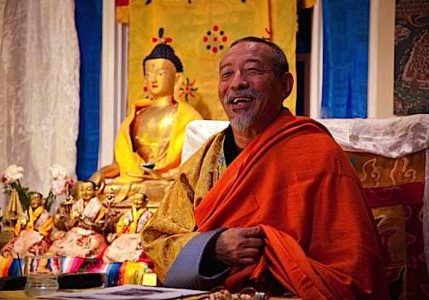 Venerable Zasep Tulku Rinpoche.